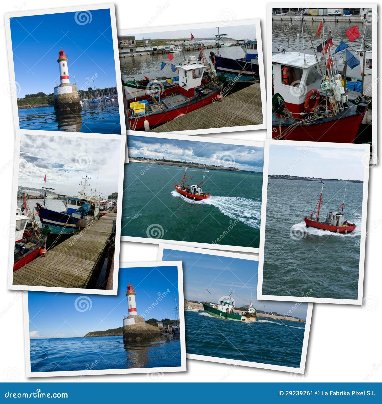 Download Coleção náutica imagem de stock. Imagem de farol, porto - 29239261