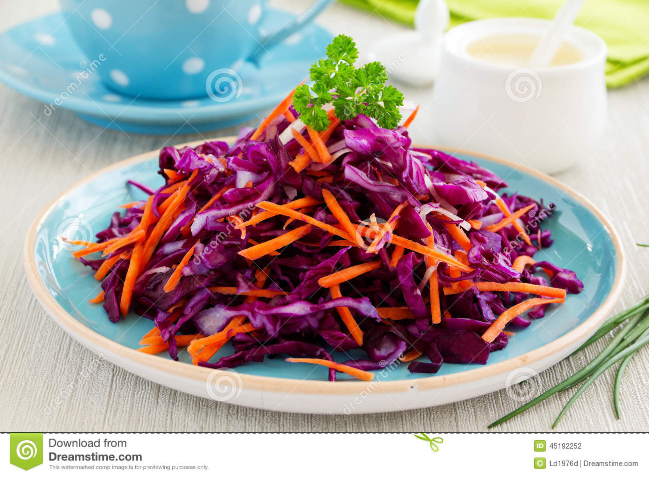 Salad Cole Slaw Stock Photography | CartoonDealer.com ...