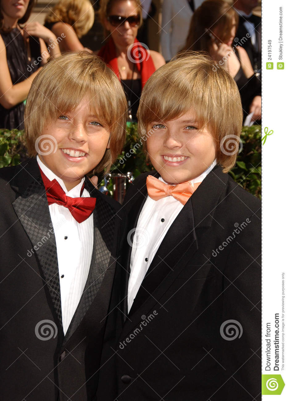 Cole Sprouse Dylan Sprouse Editorial Stock Image Image