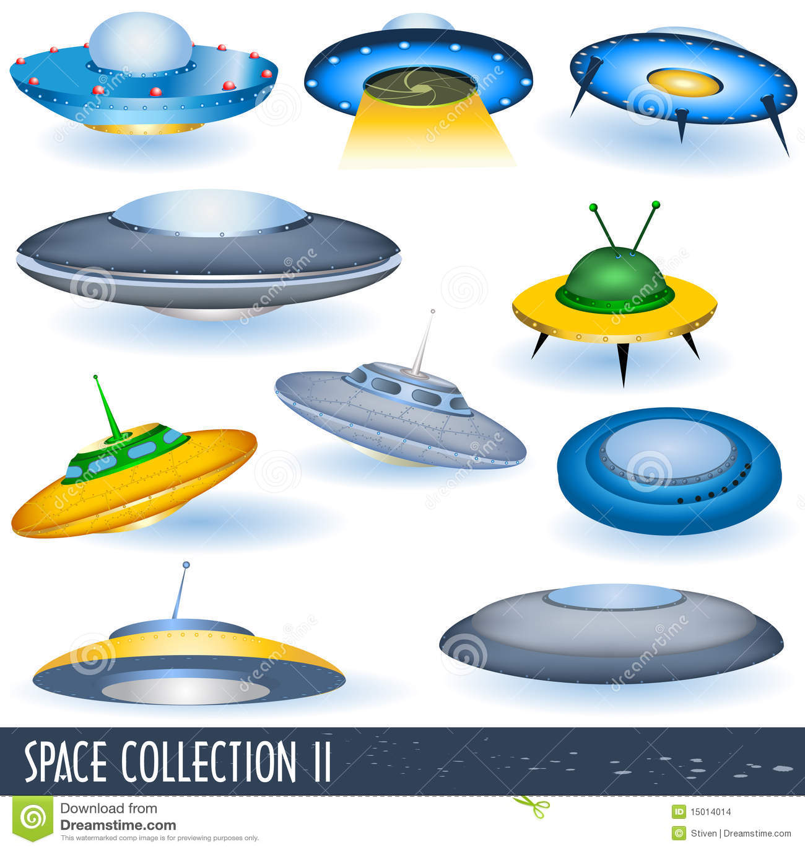 Colección 2 del espacio