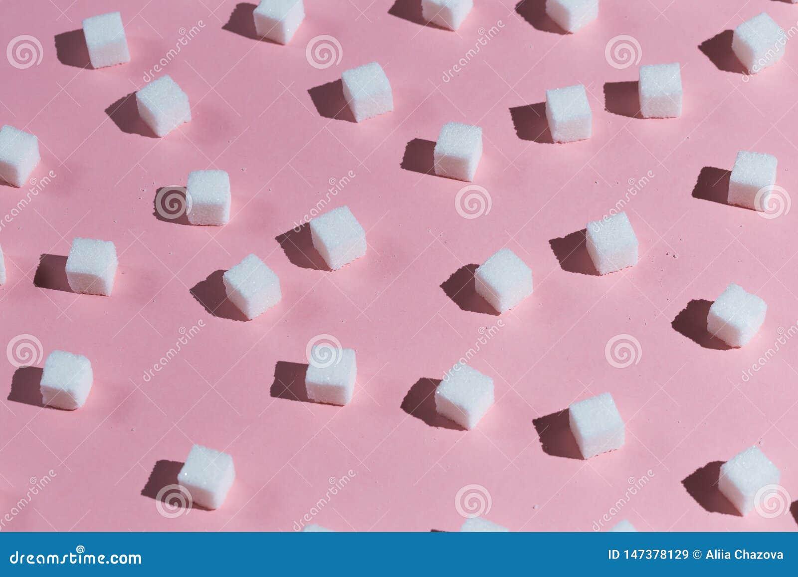 Colección de cubos del azúcar