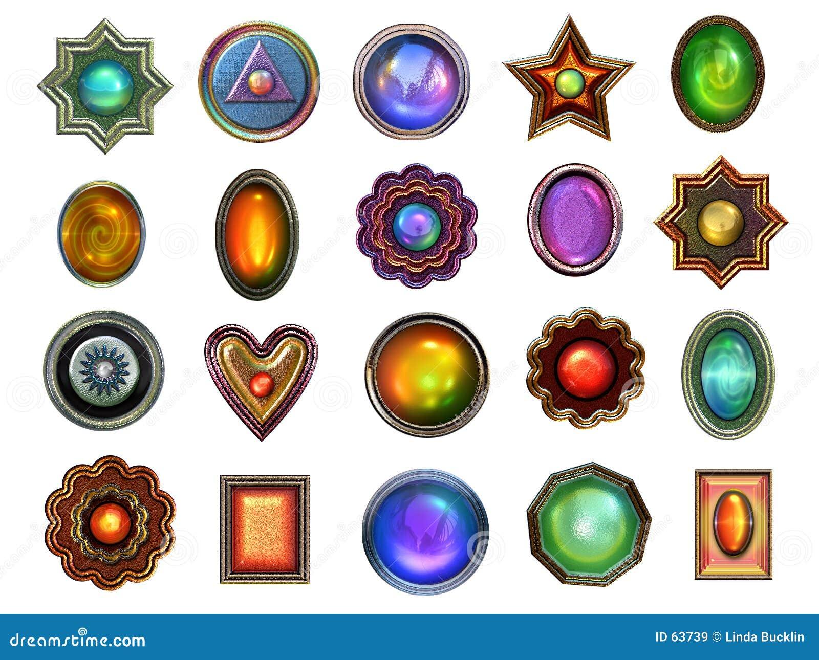 Colección de gemas