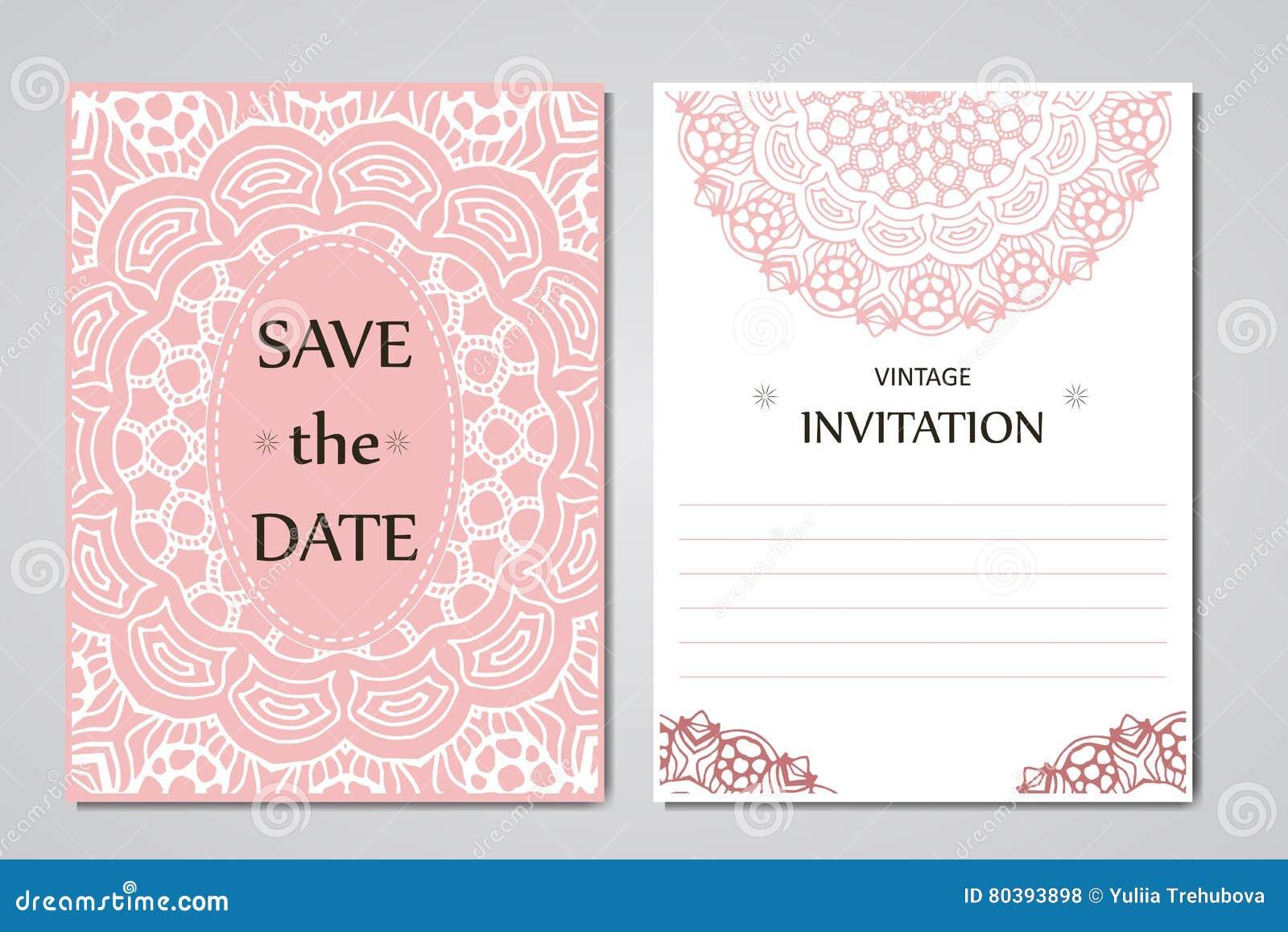 Plantillas Invitacion De Boda. Invitacin De Boda Rstica Rosa ...