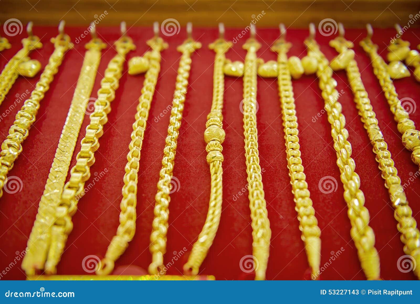 Colección de pulsera de oro