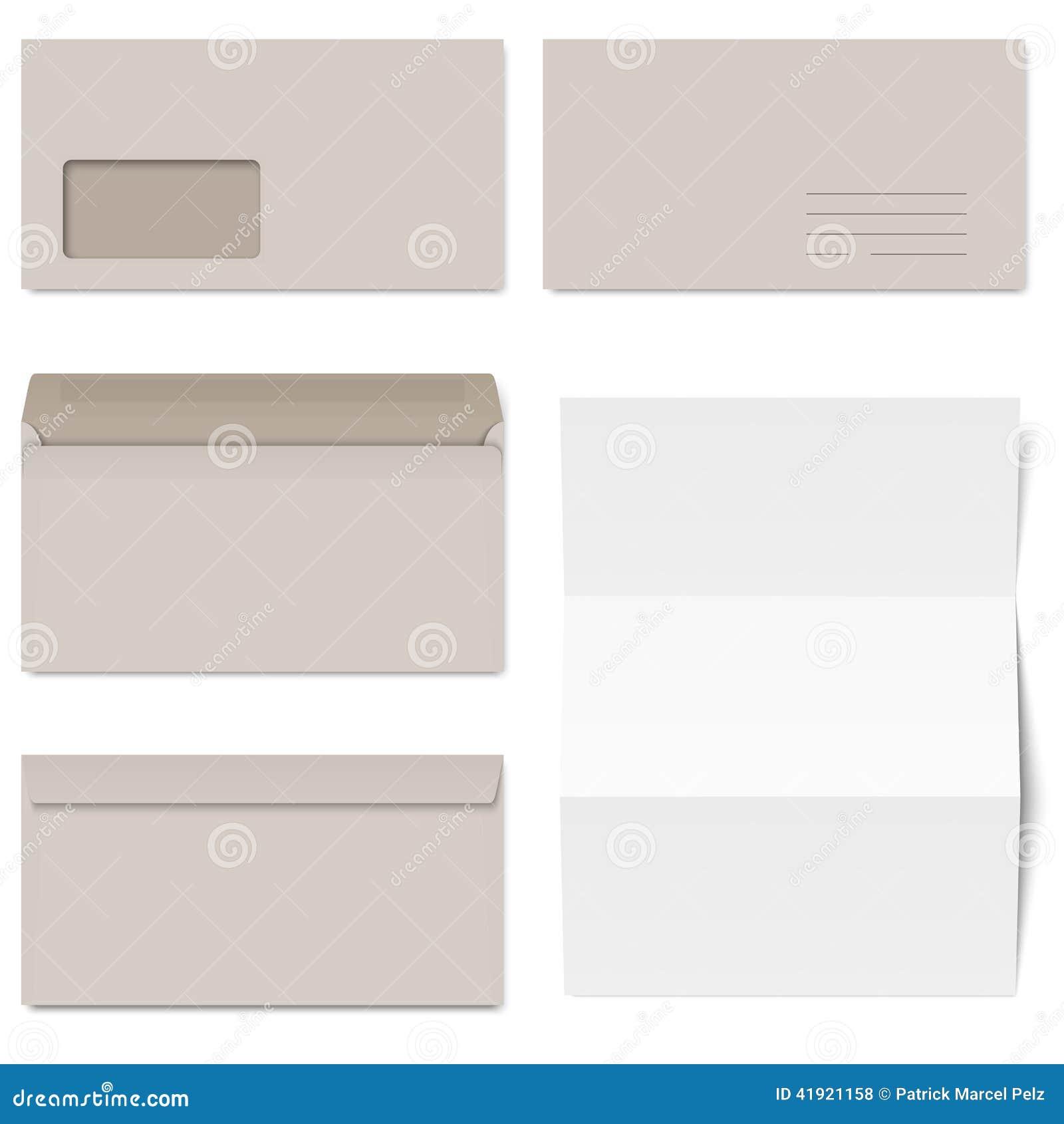 Colección de sobres grises + Libro Blanco