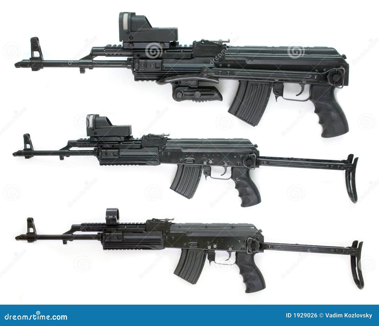 Colección Del Kalashnikov - Cuadros Grandes De La Talla Foto de ...