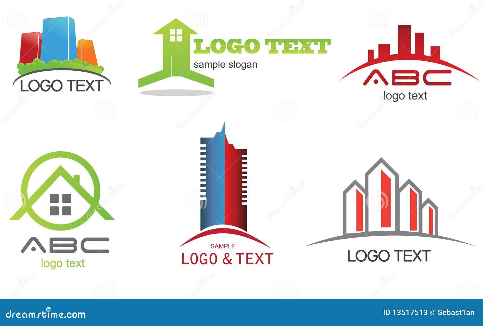 Colecci N Del Logotipo Fotos De Archivo Imagen 13517513