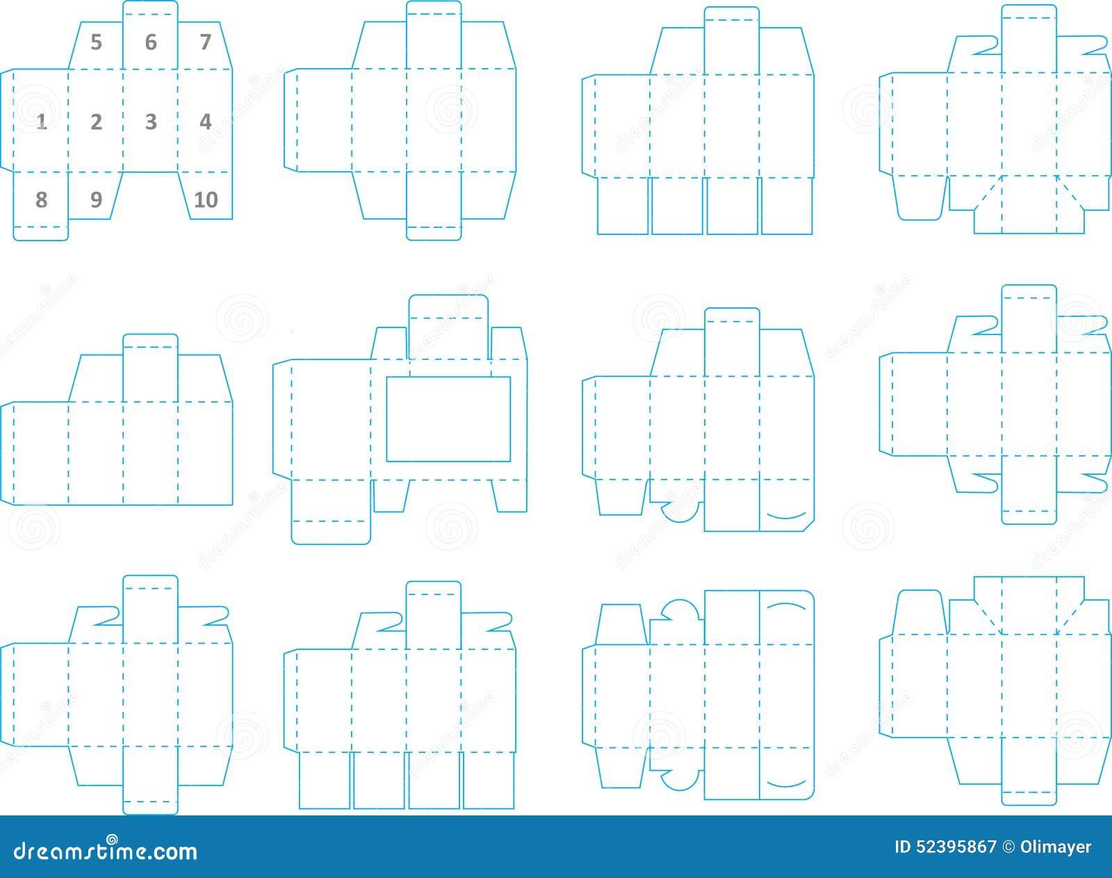 Famoso Cajas De Plantilla Ideas Ornamento Elaboración Festooning ...