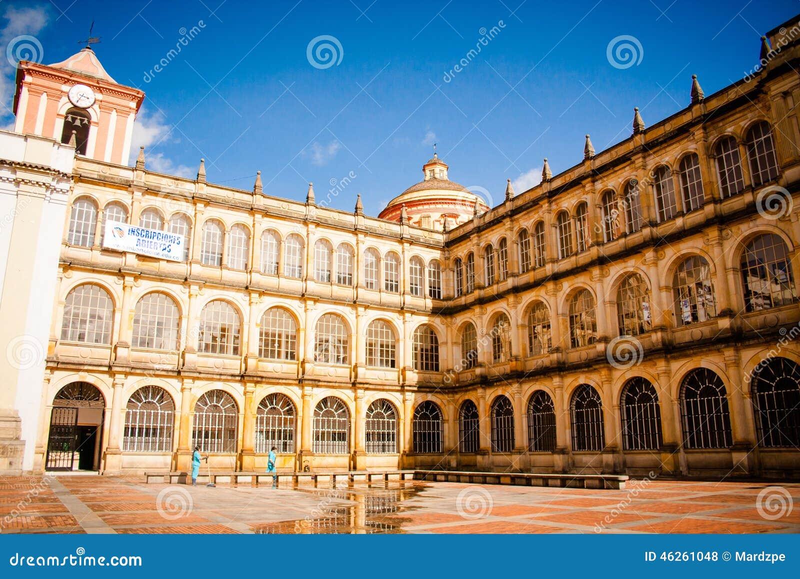 Colegio borgmästare de San Bartolomé, skolauniversitet bogota