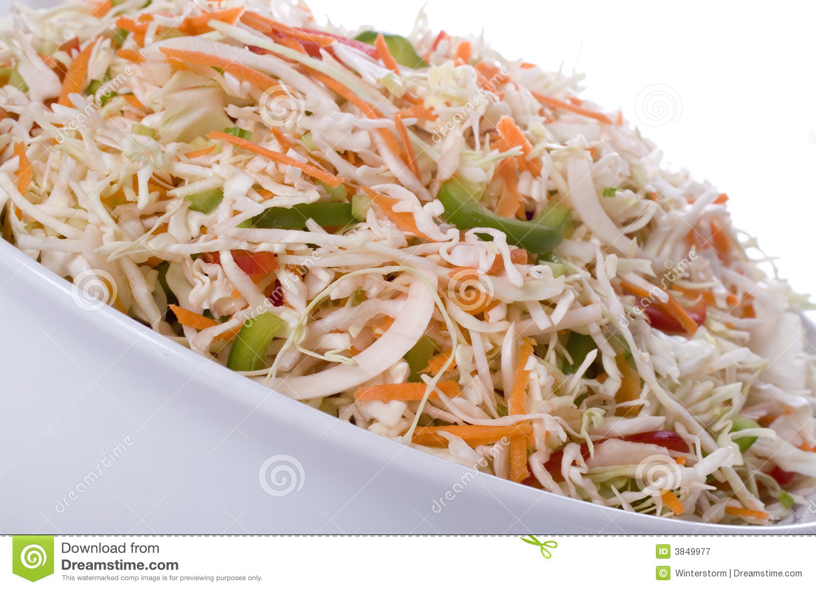 Салат из капусты с кириешками и капустой
