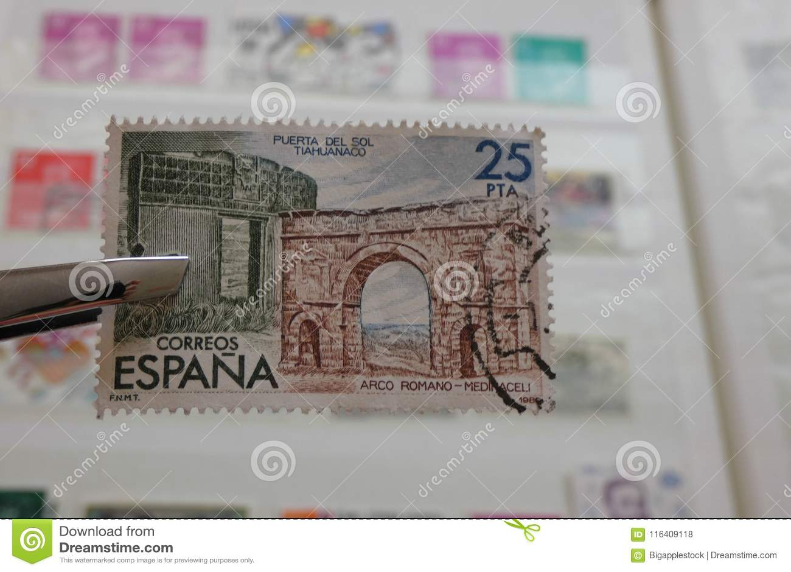 Coleta de selo