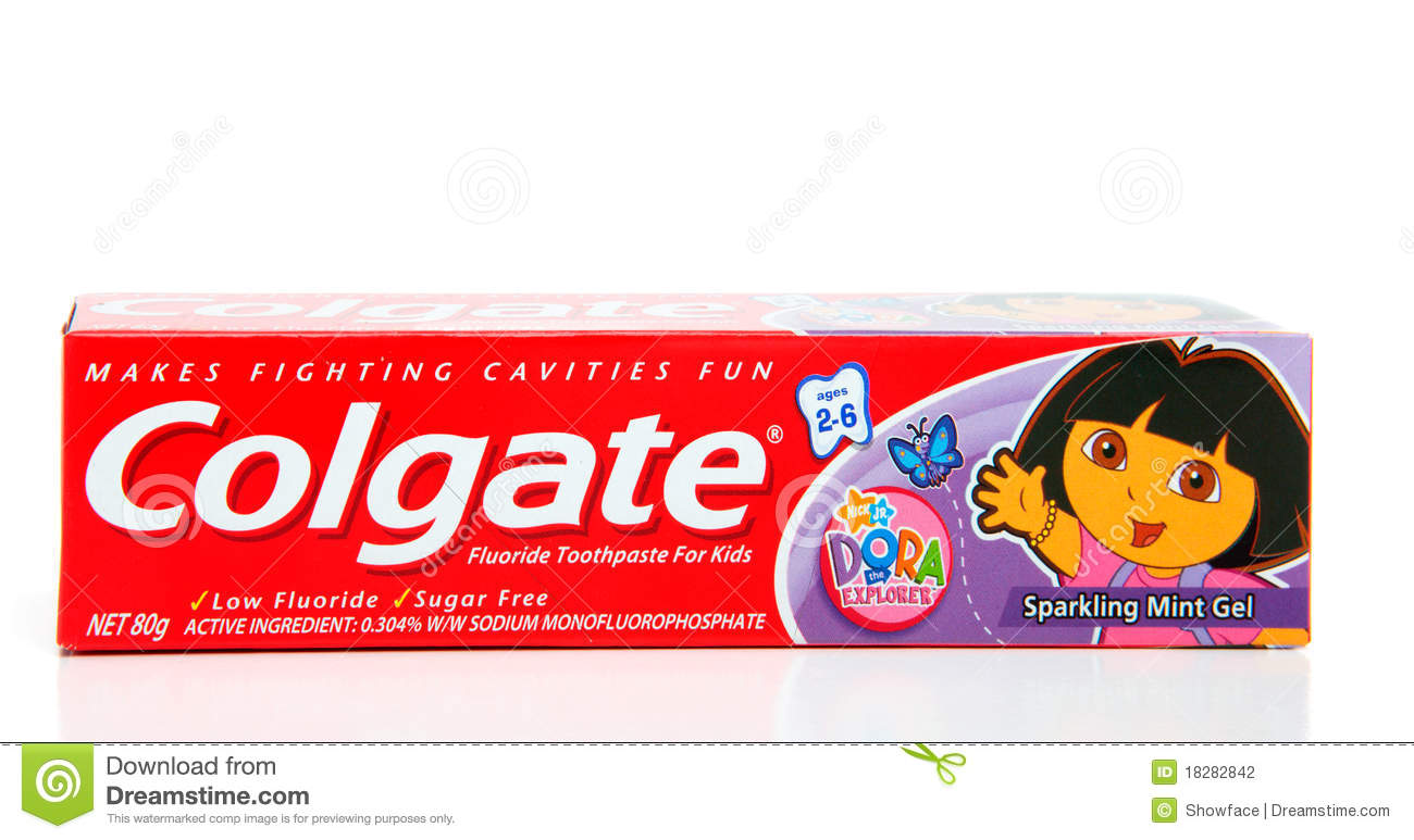 Colgate Children's Toothpaste Editorial Photography ...