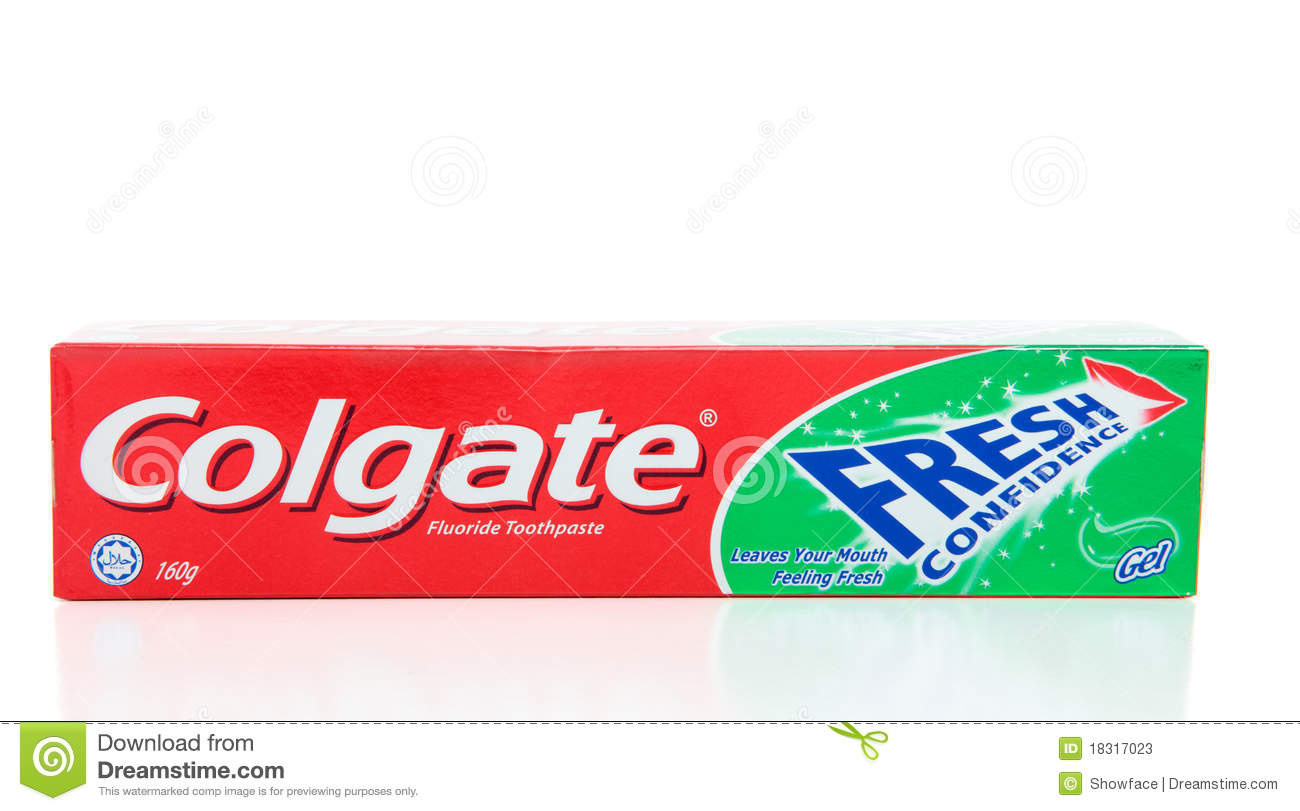 Colgate Fresh Confidence Toothpaste Editorial Stock Photo ...