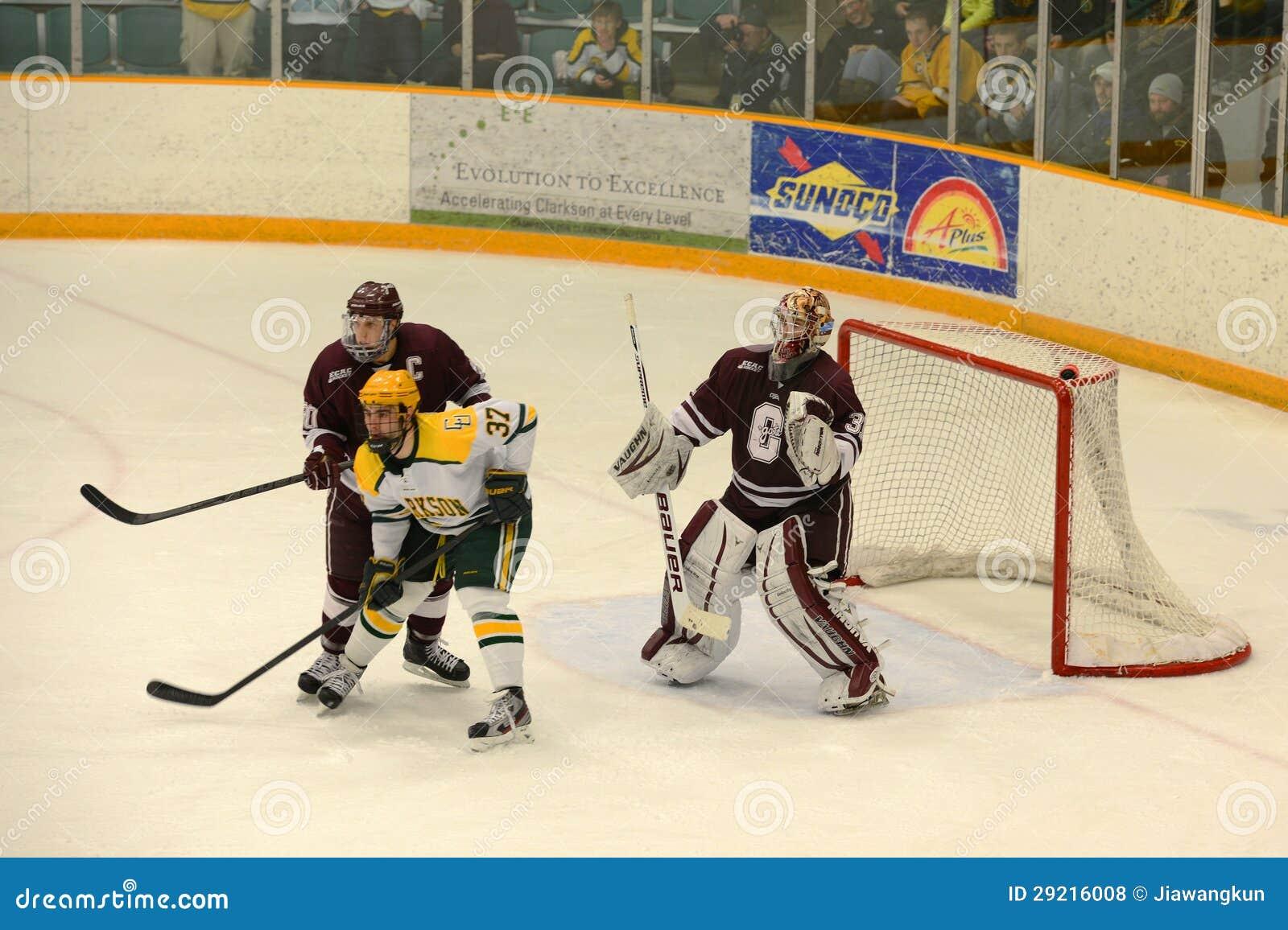 Colgate Goalie #31 i NCAA-hockeylek