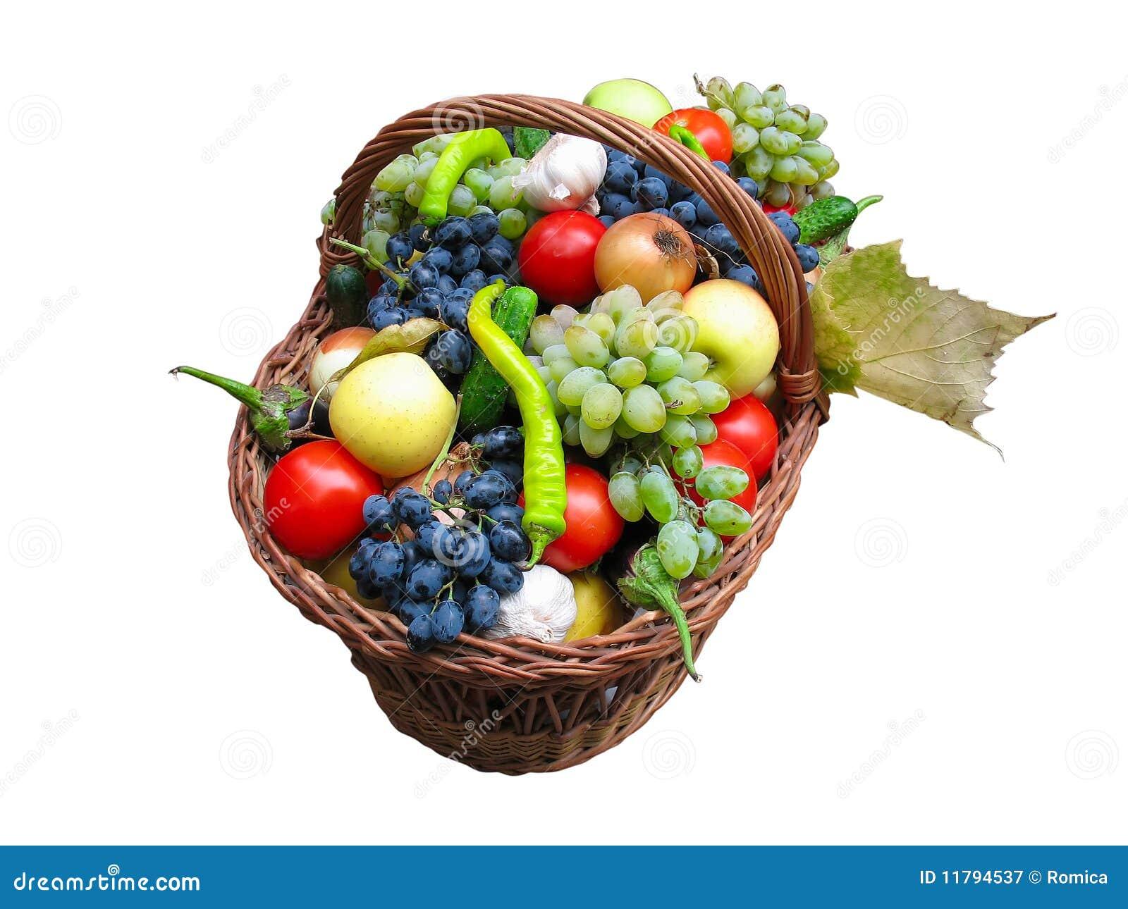 de Stock Royalty Free: Colha frutas e verdura em uma caixa de madeira #BE1B0D 1300x1065