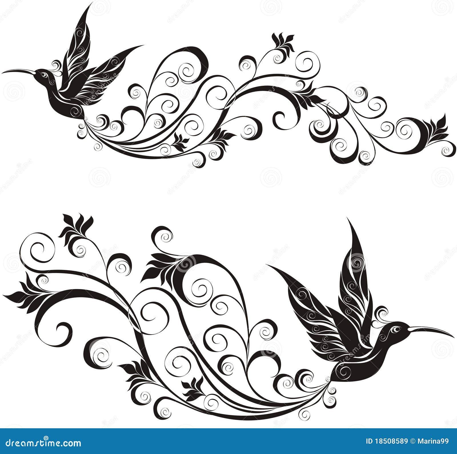 Colibrí Ilustración Del Vector Ilustración De Tarareo 18508589