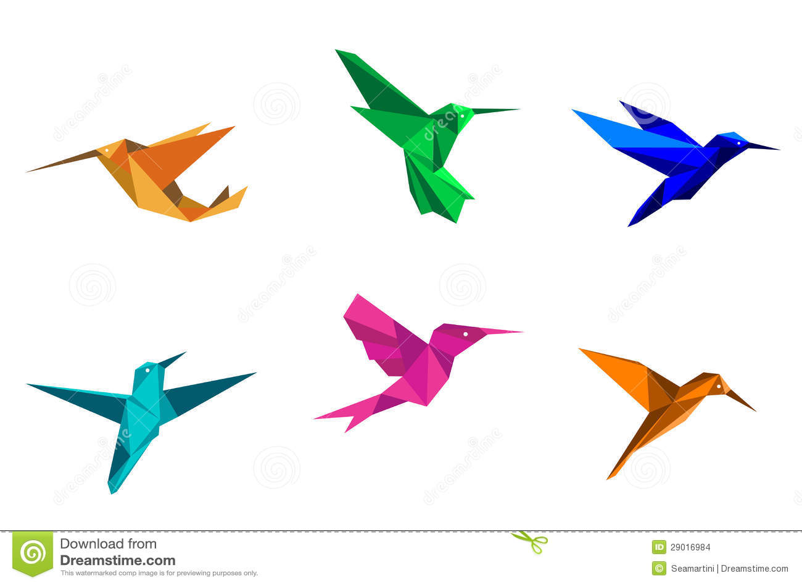 tropical bird silhouette