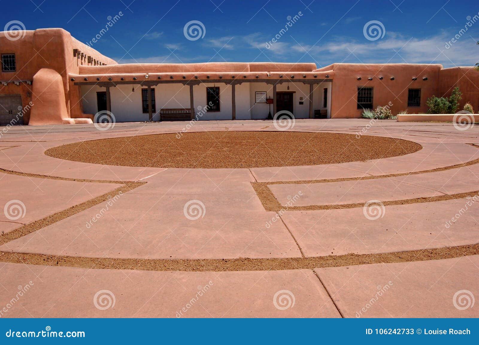 Colina del museo, Santa Fe, New México