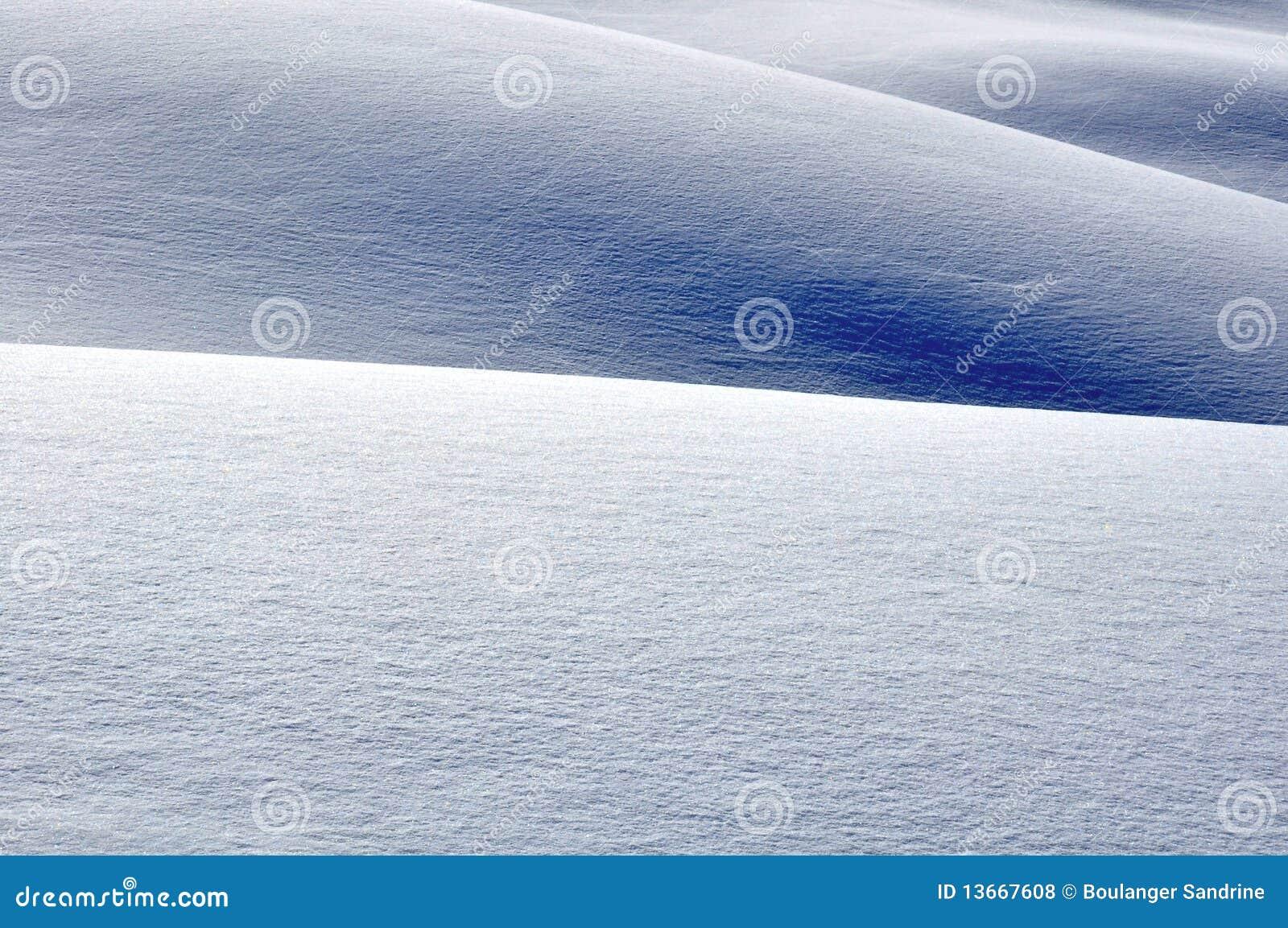 Colinas con nieve