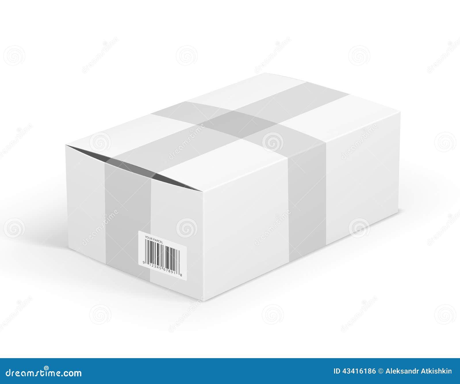 colis blanc photo stock image 43416186. Black Bedroom Furniture Sets. Home Design Ideas
