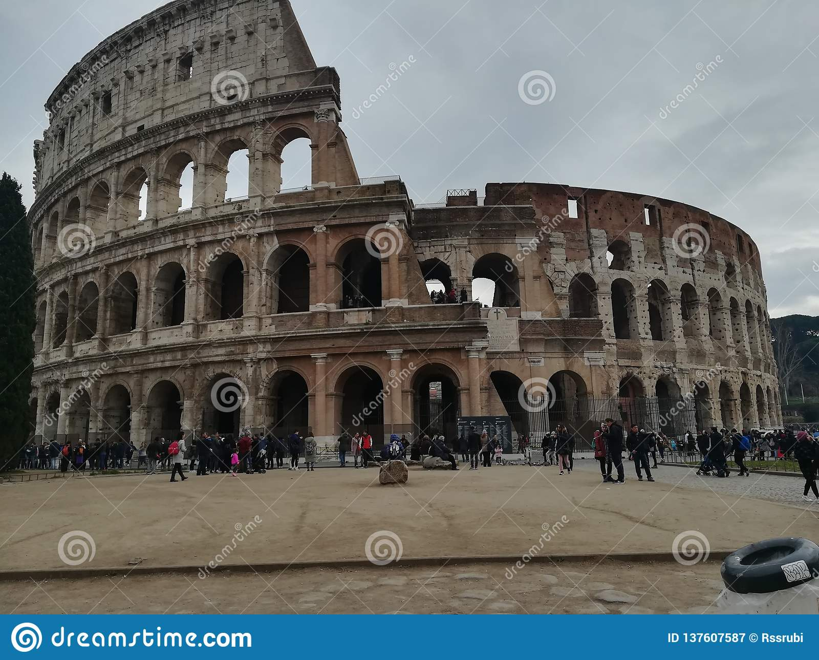 Coliseo Romano Editorial Photography Image Of Coliseo 137607587