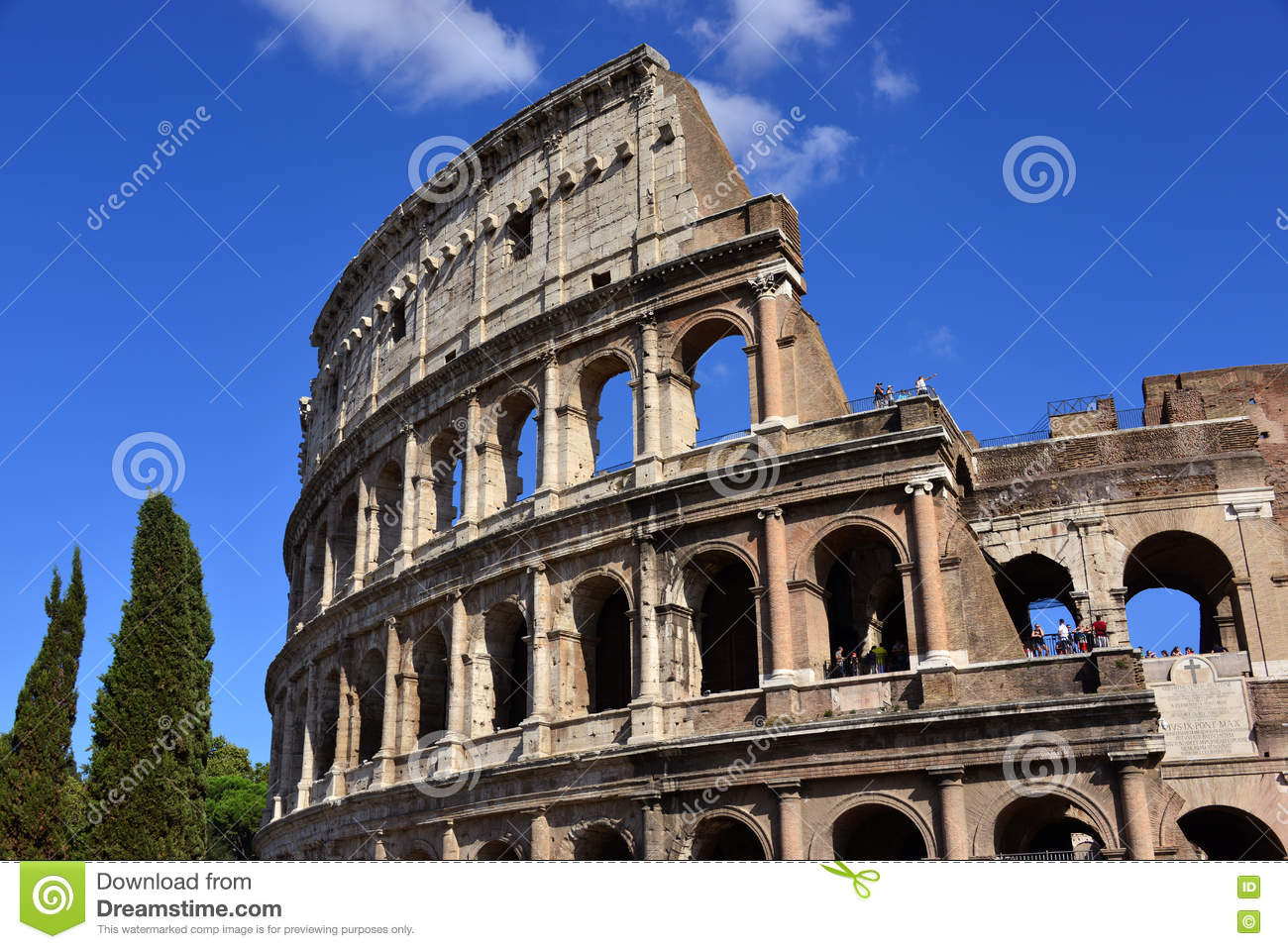 Coliseum Symbol Of Rome Editorial Image Image Of Power 72273635