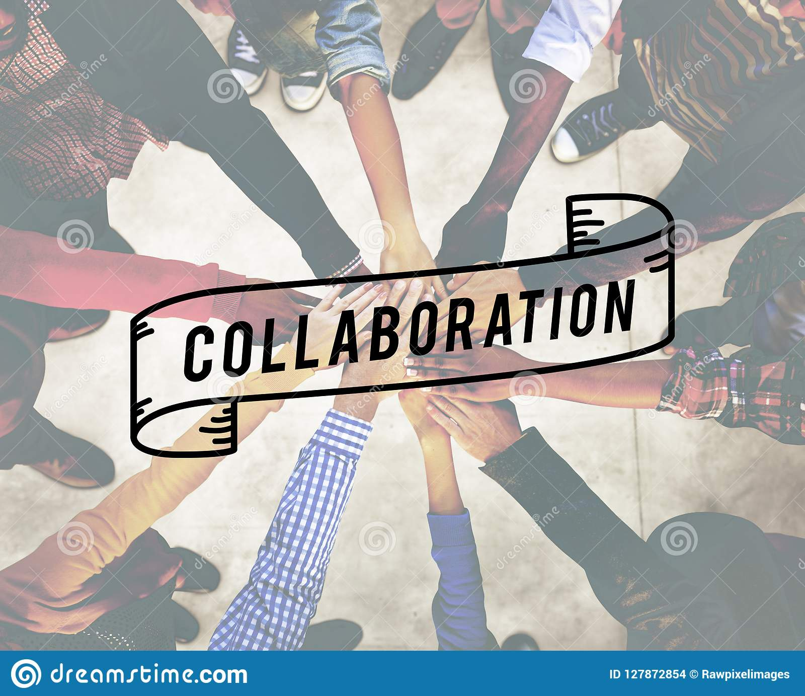 Collaboration Collaborate Connection Corporate Concept