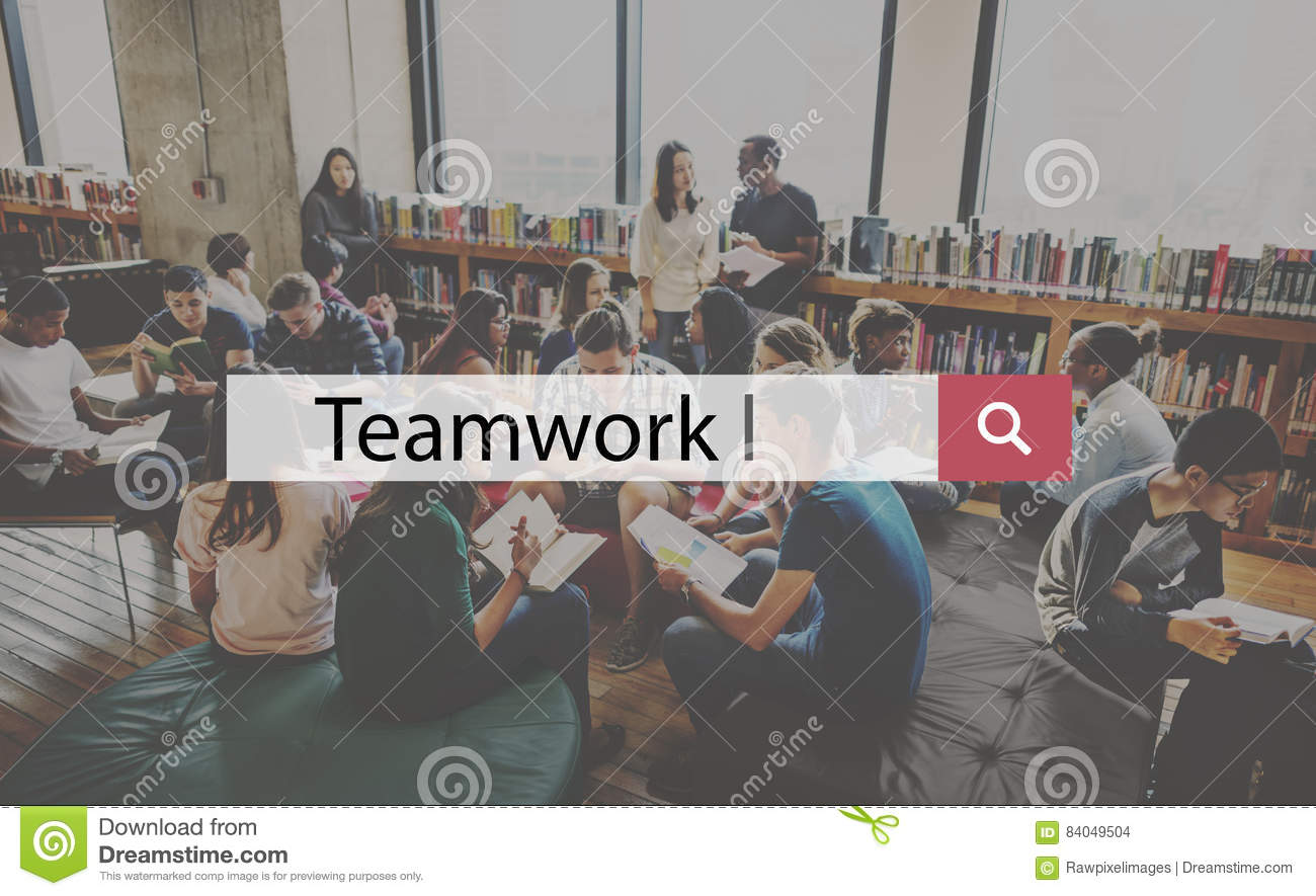 Collaboration Team Building Support Help Teamwork d entreprise concentré