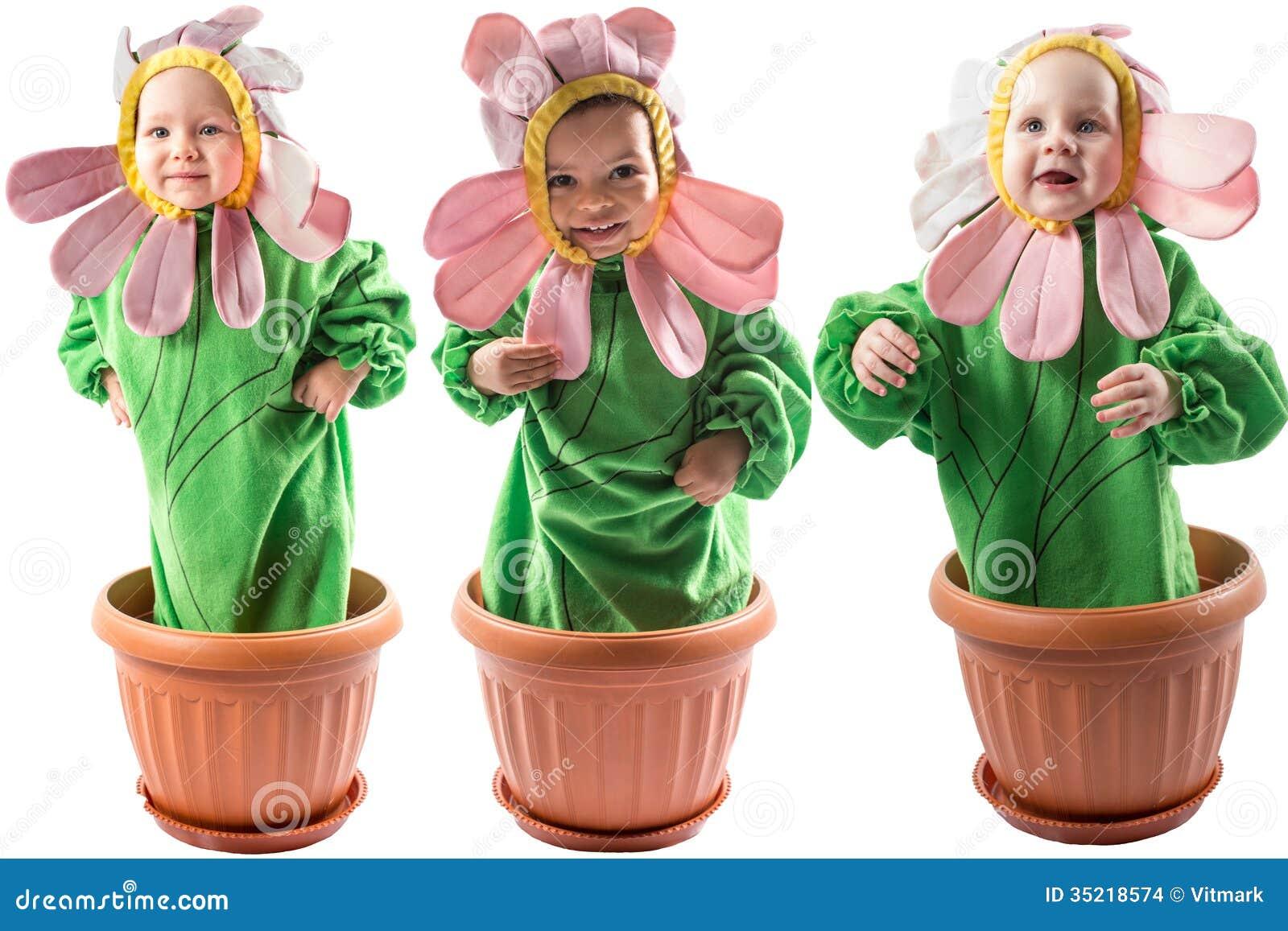 Фото дети в костюме цветов