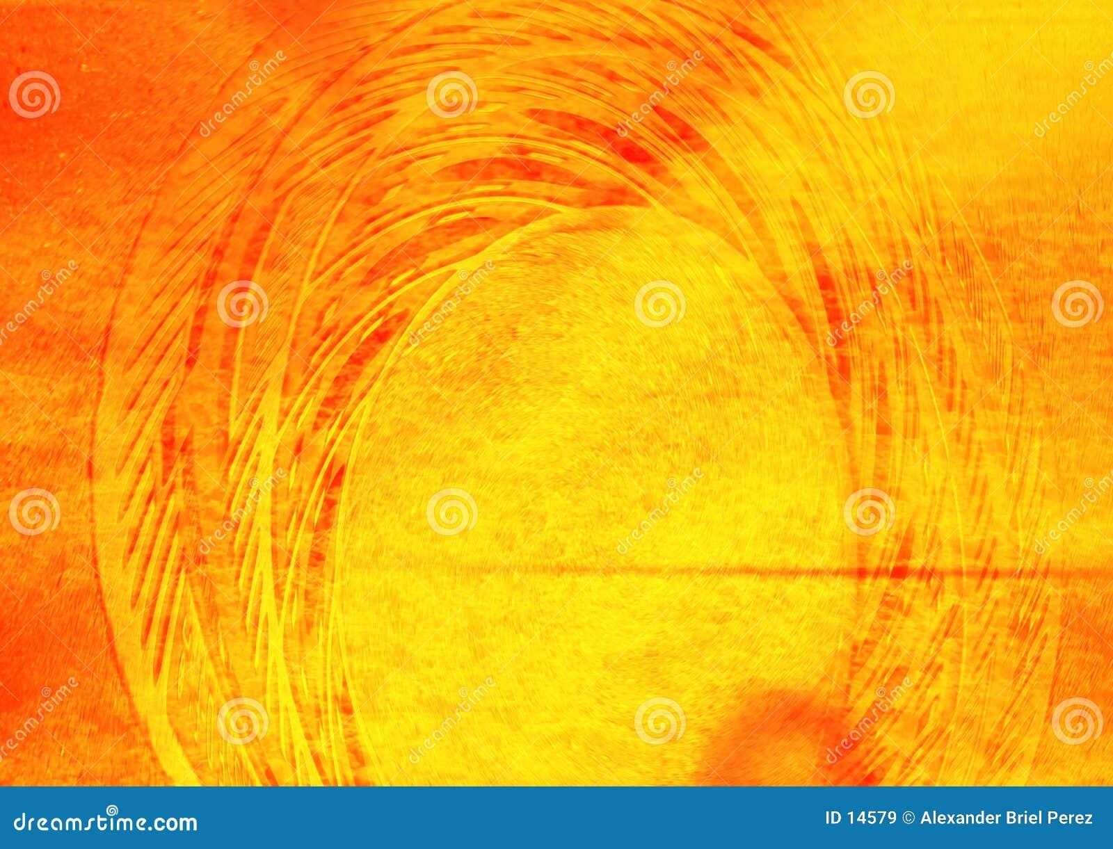 Collage anaranjado