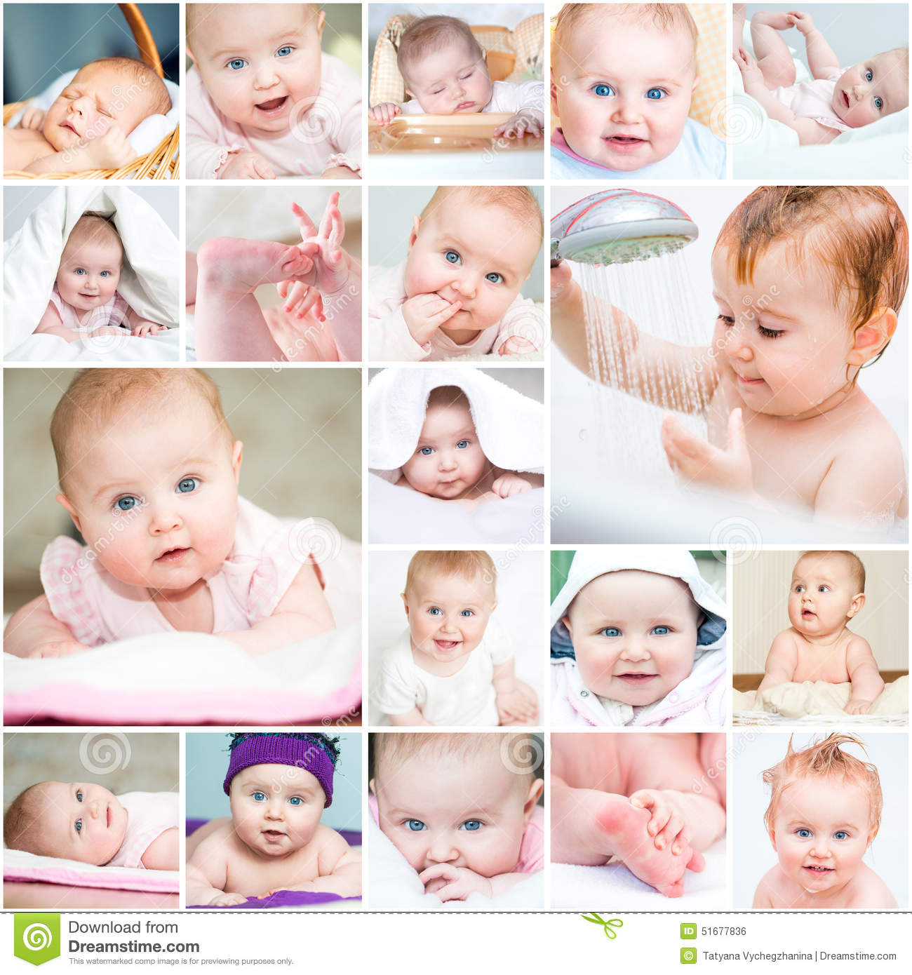 Baby Face Collage Stock Photos, Images, & Pictures - 240 Images