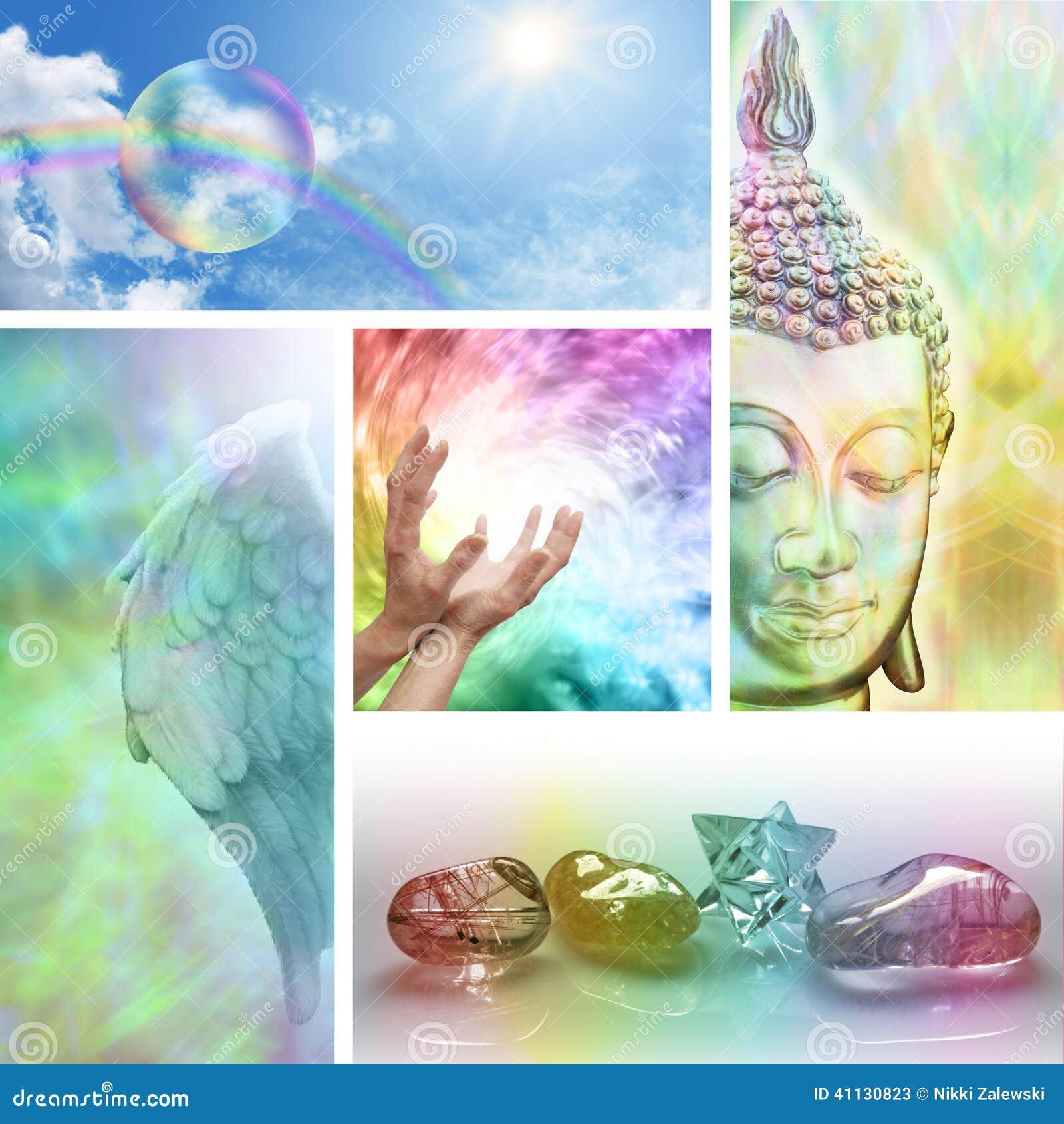 Collage curativo holístico