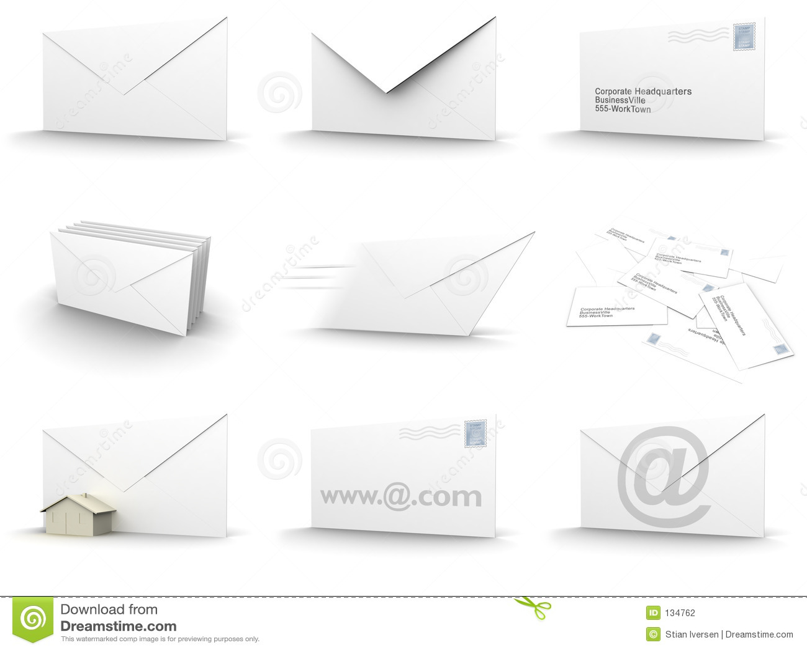 Collage d enveloppe