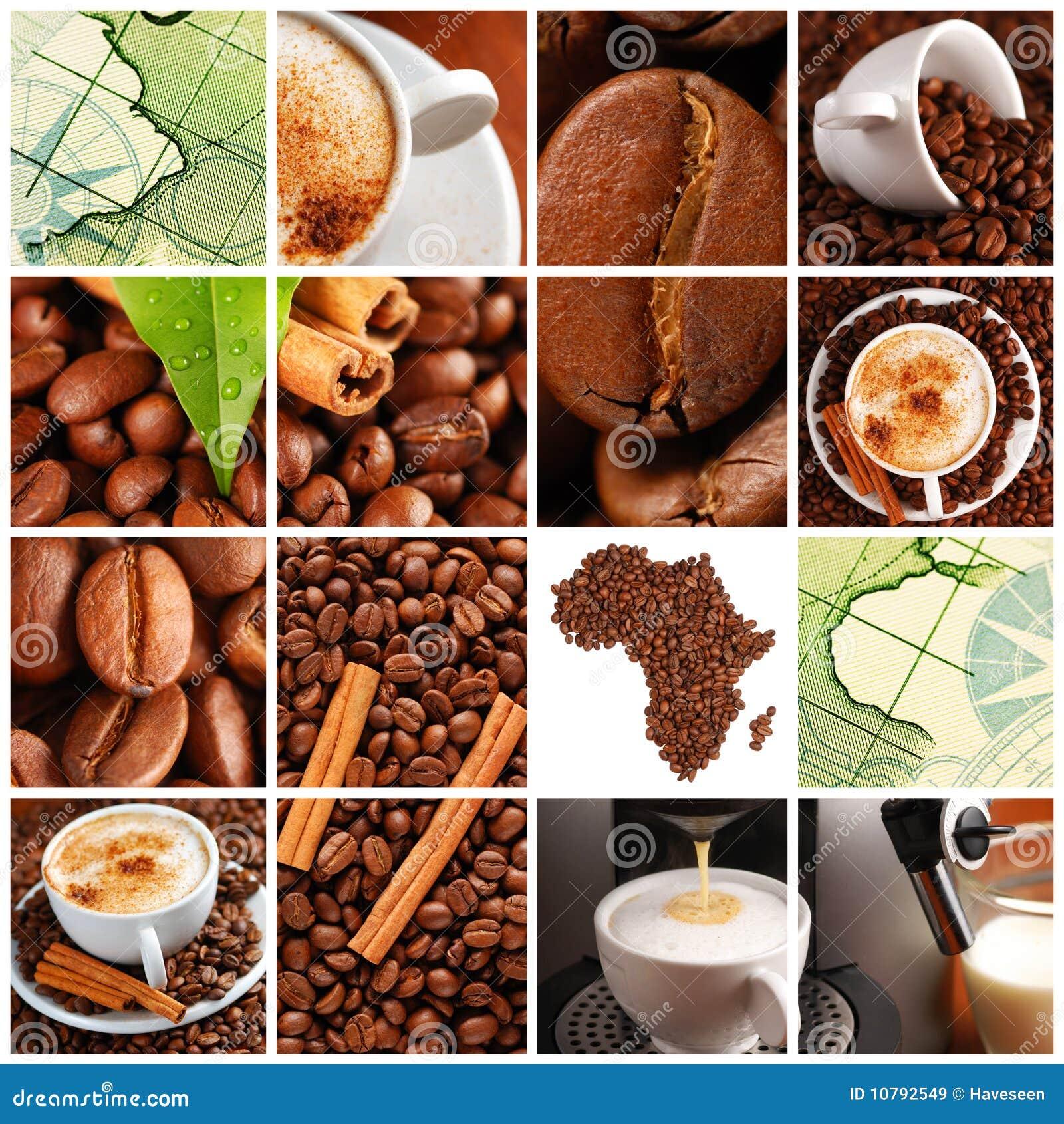 Collage de café