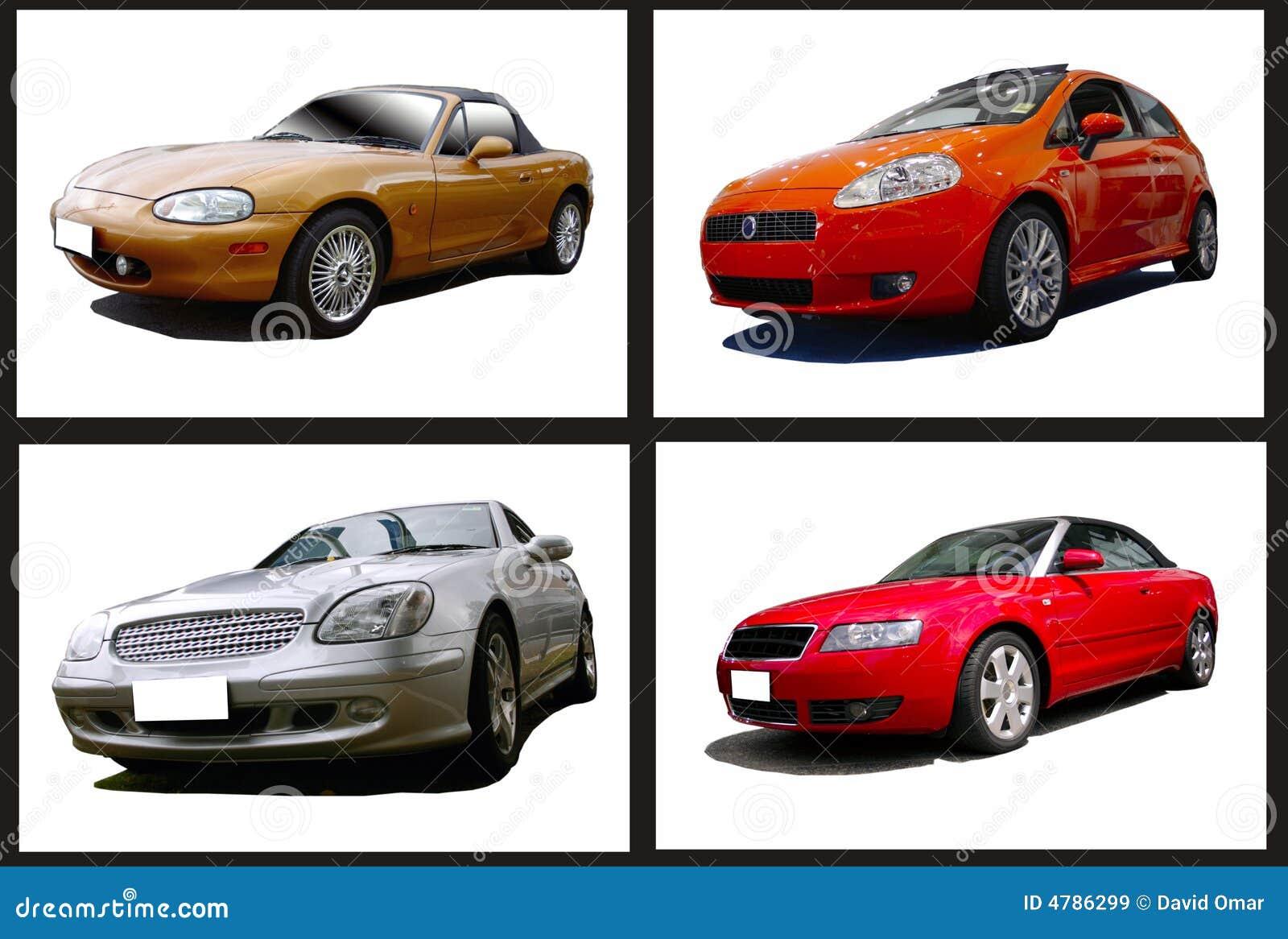 Collage de coches