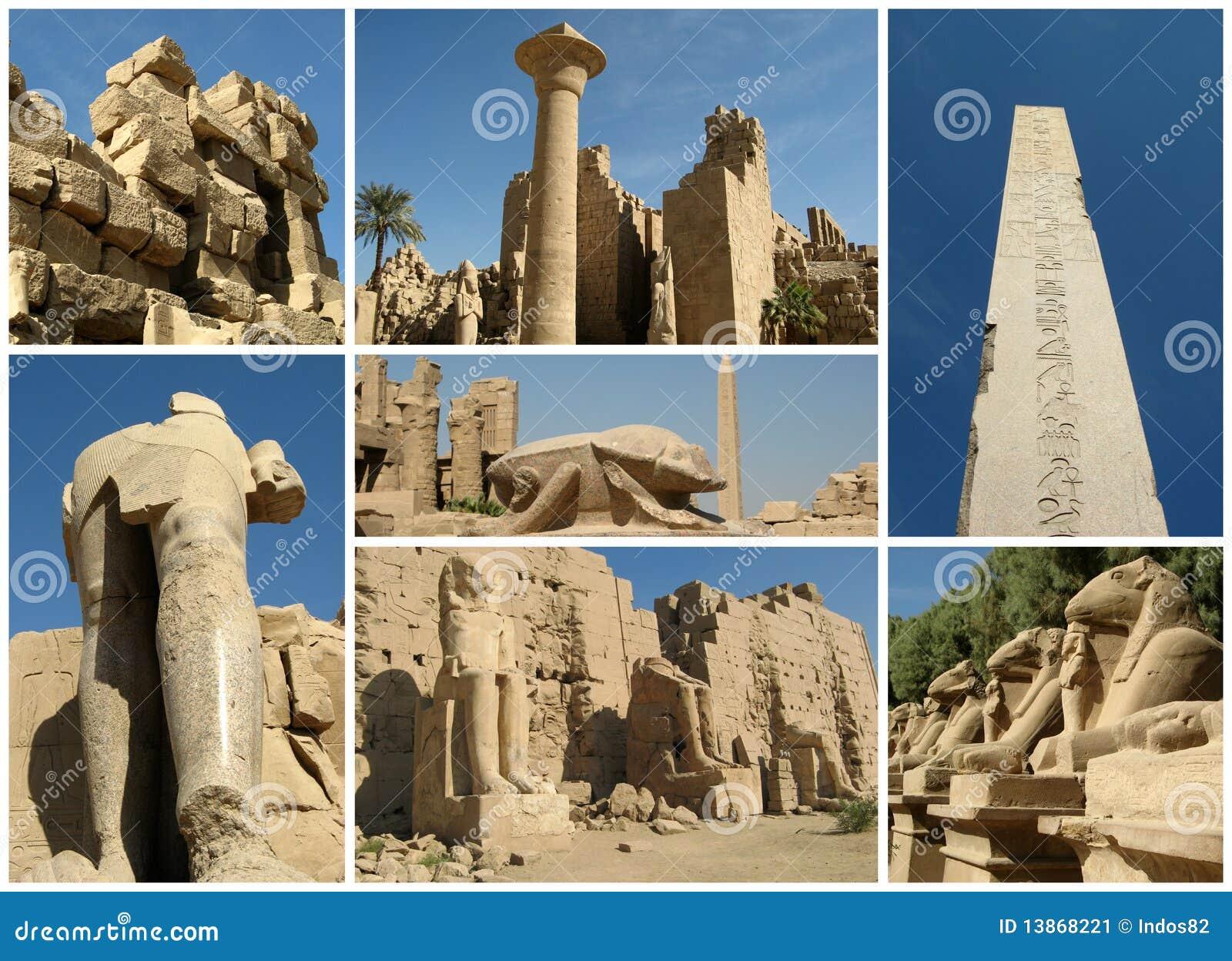 Collage de Egipto