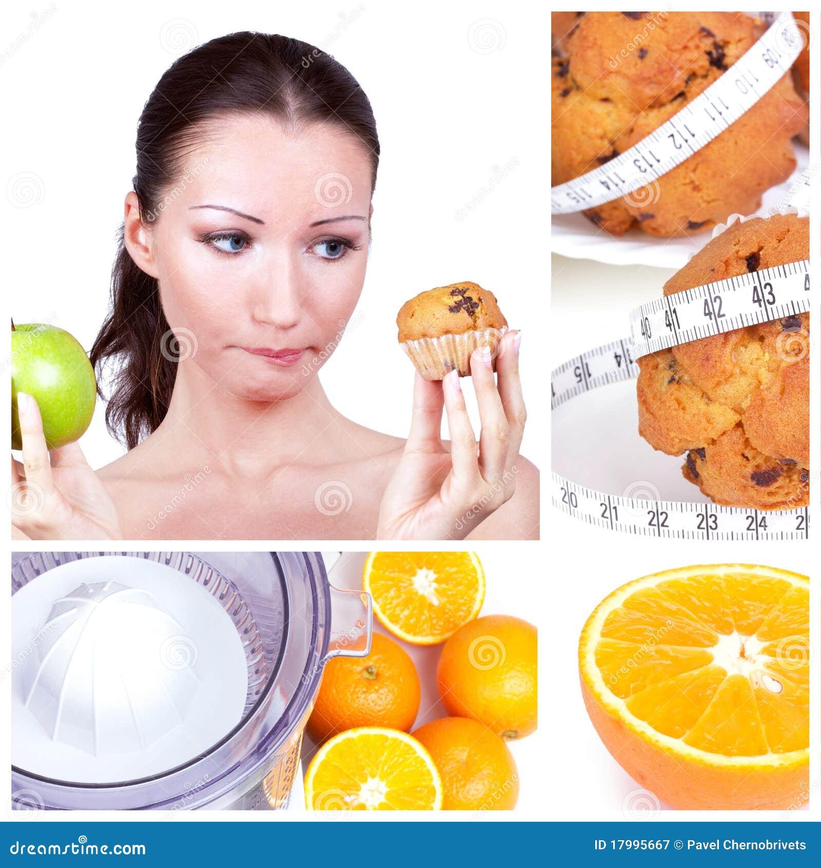 Collage de la dieta