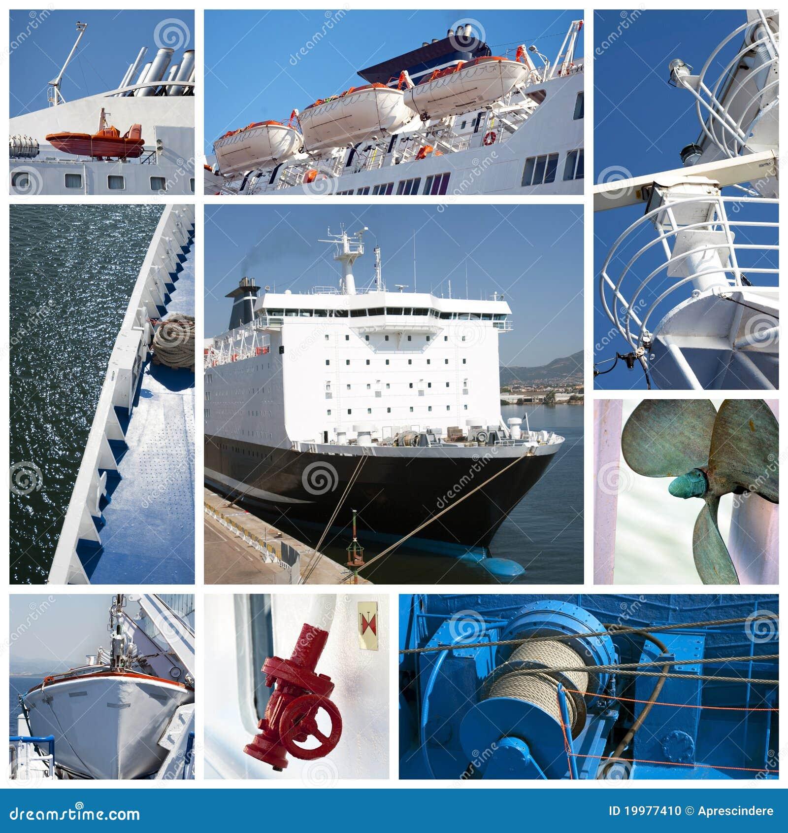 Collage de la nave