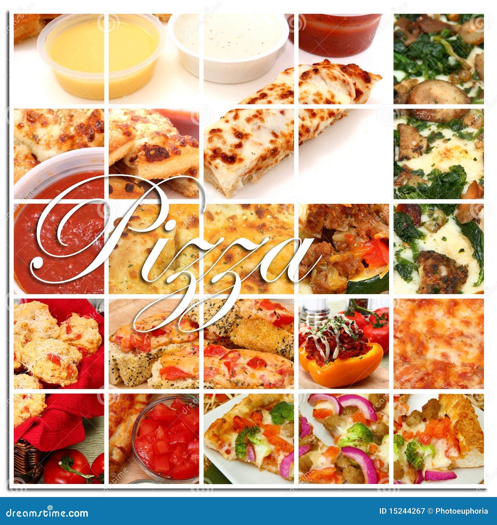 Collage de la pizza