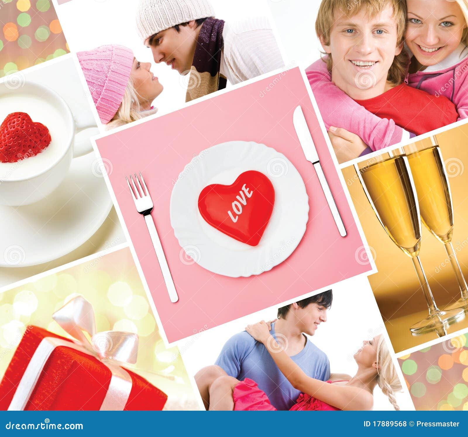 Collage de los amantes