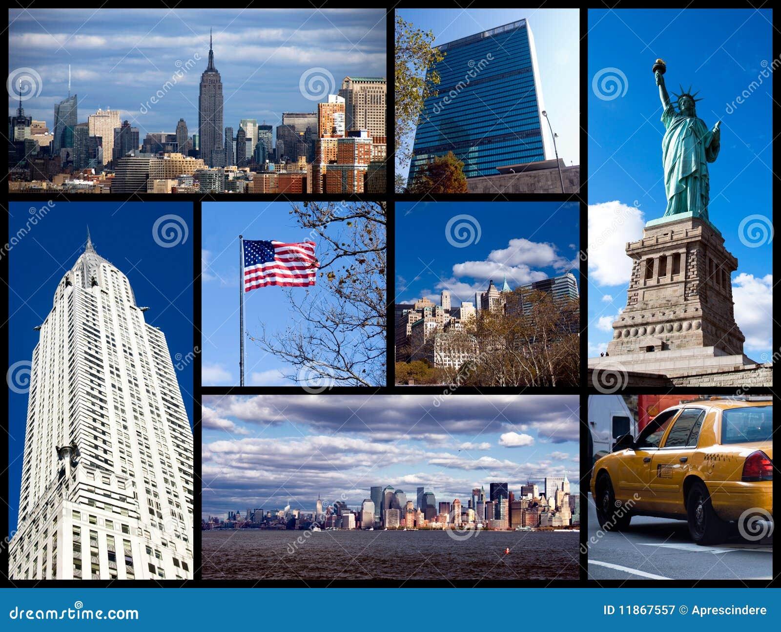 Collage de Nueva York