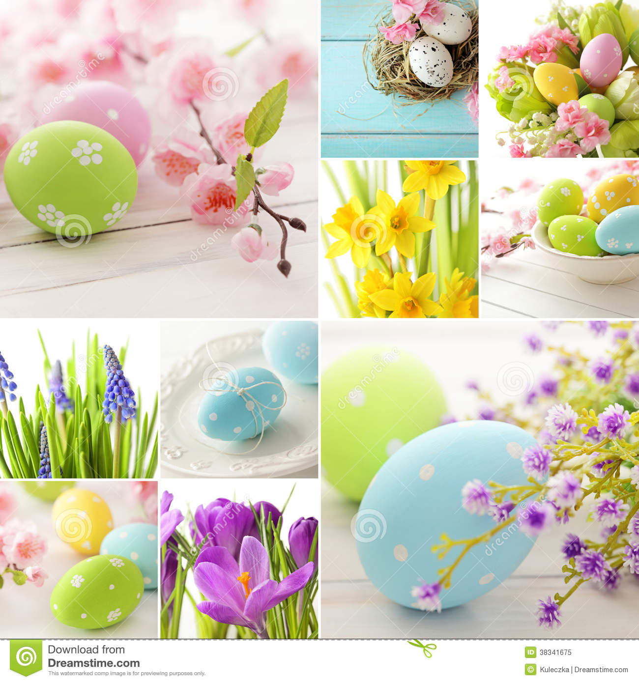Collage de Pascua