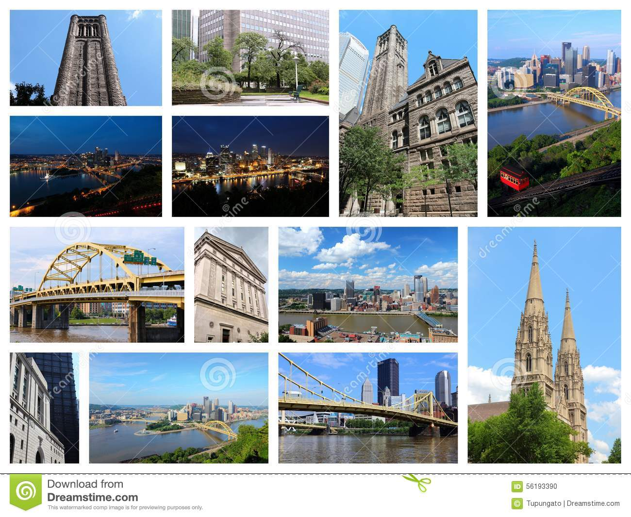 Collage de Pittsburgh