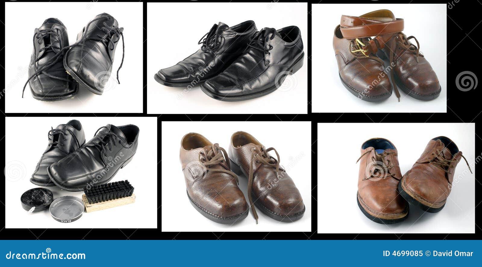 Collage de zapatos foto de archivo libre de regal as imagen 4699085 - Zapatos collage ...