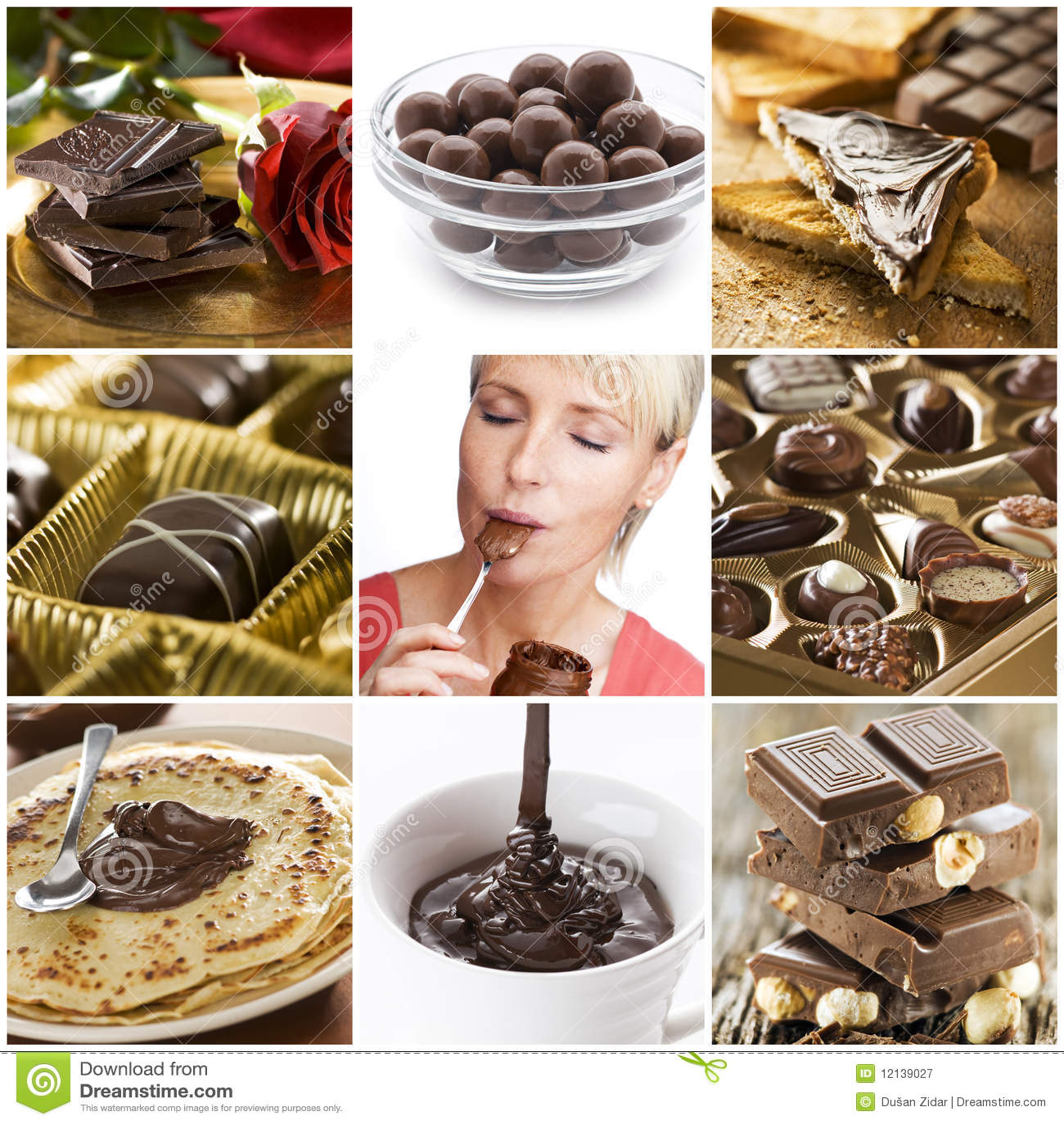 Collage del chocolate