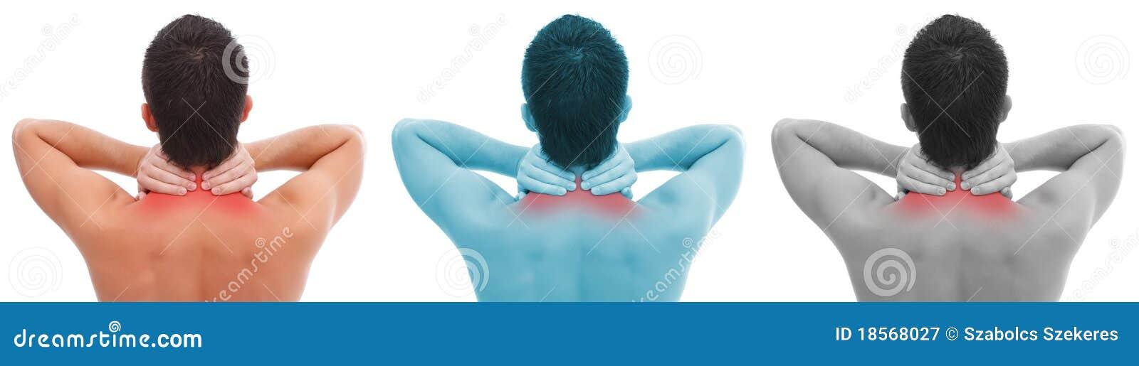 Collage del dolor de cuello