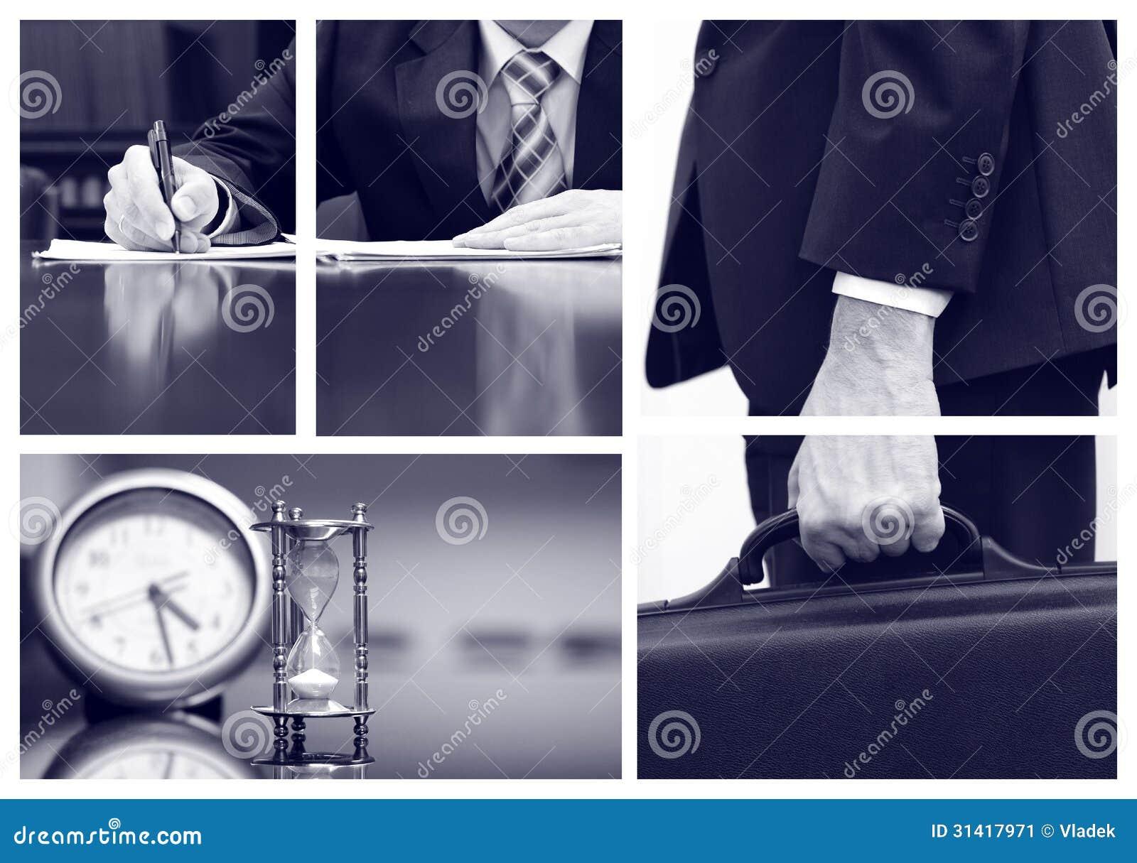 Collage del negocio
