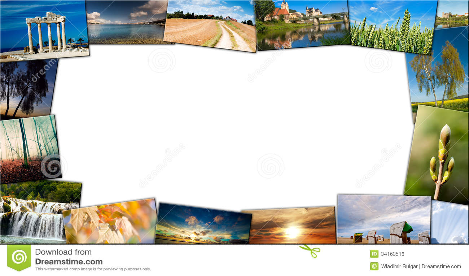 Collage del viaje