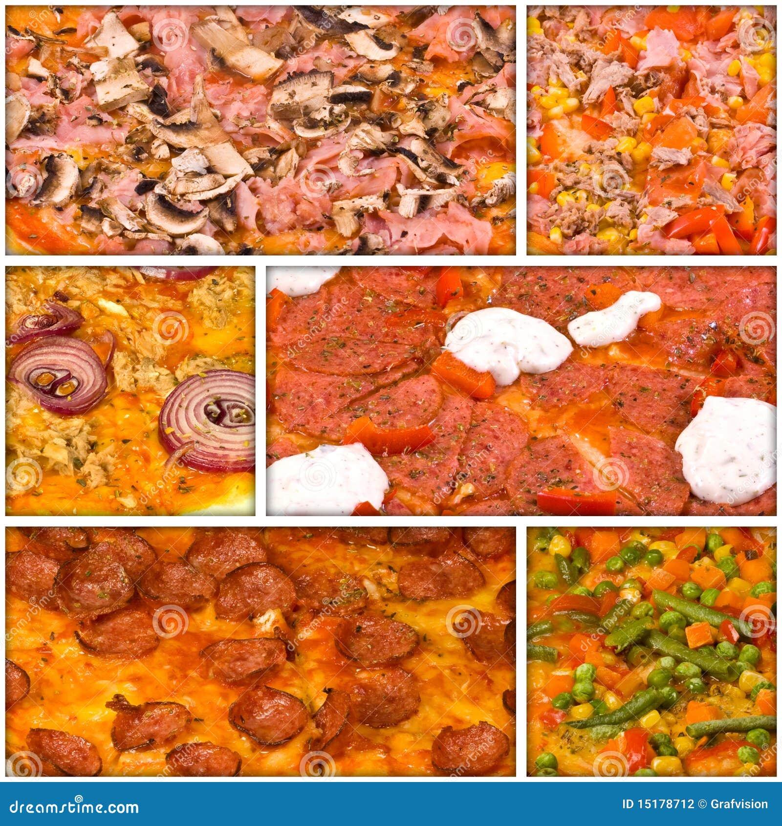 Collage della pizza