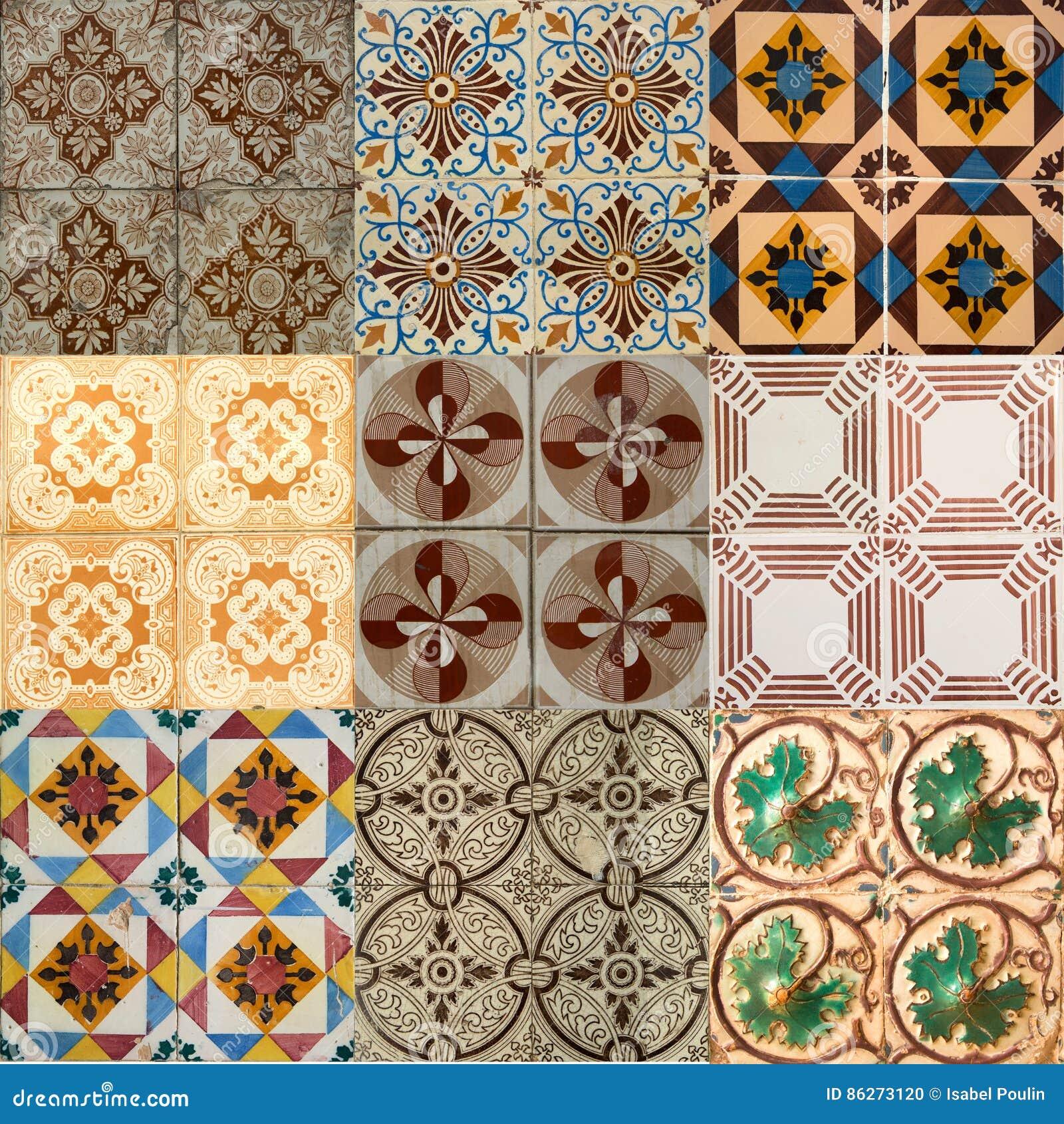 Collage delle piastrelle di ceramica dal portogallo for Piastrelle esterno 15x15